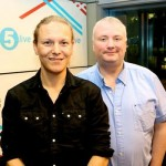 Stephanie Hirst and Stephen Nolan
