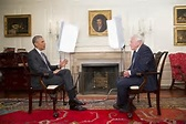 President Obama with Sir David Attenborough